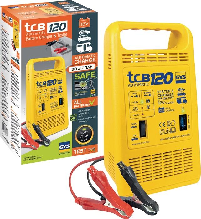 Batterieladegerät TCB 120 12 V 3,5-7 A