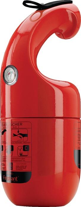 Pulverfeuerlöscher Firephant 1kg rot