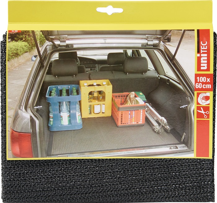Kofferraummatte PVC grau