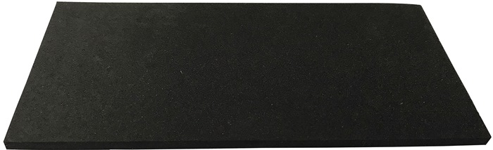 Zellkautschukplatte B.1m L.10m D.10mm