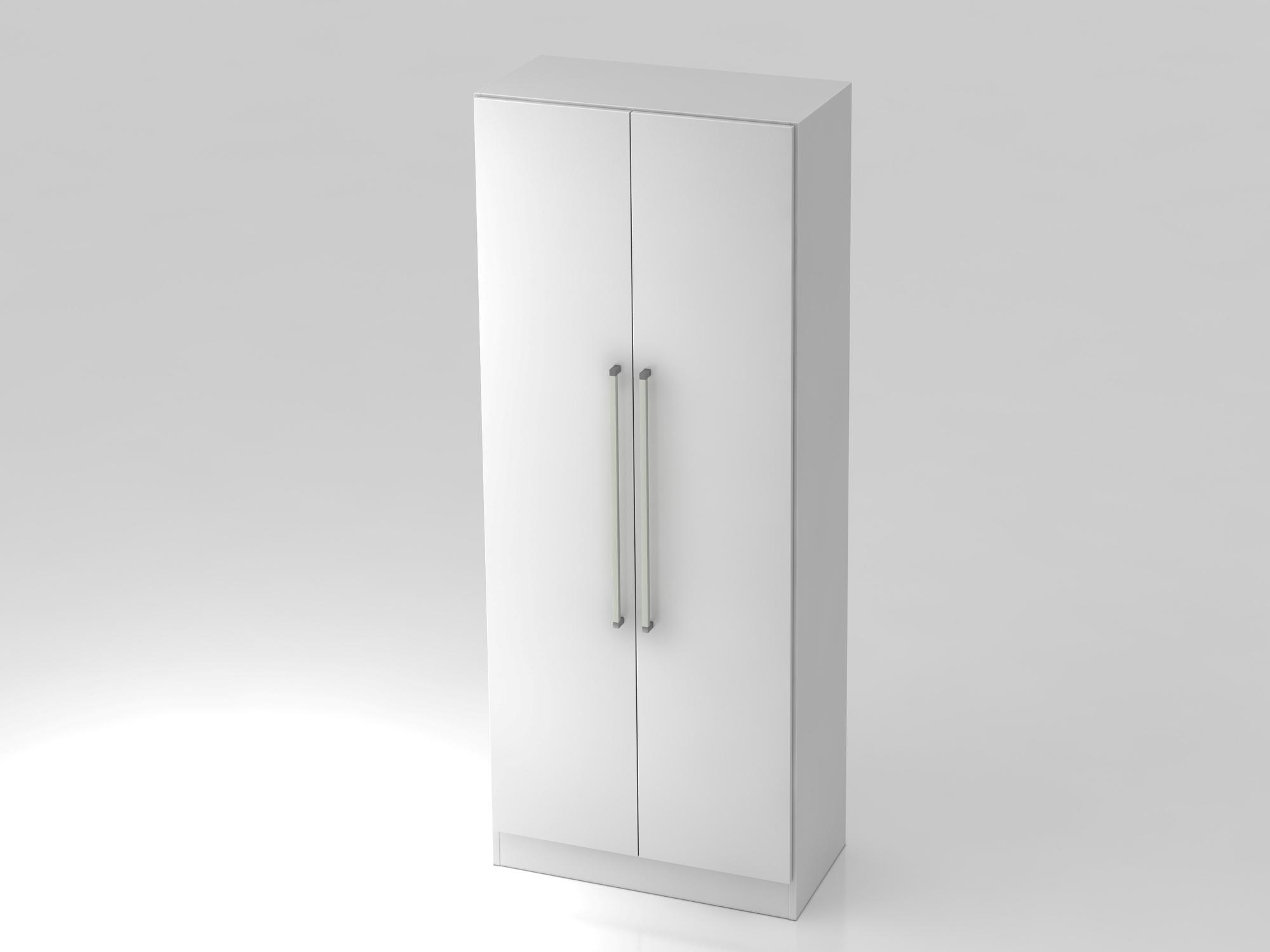 Garderobenschrank 5OH,SO-Bl. CE Weiß/Weiß