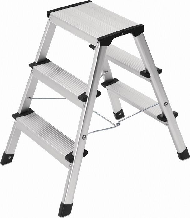 Klapptritt Stufen 3 Plattform-H.600mm