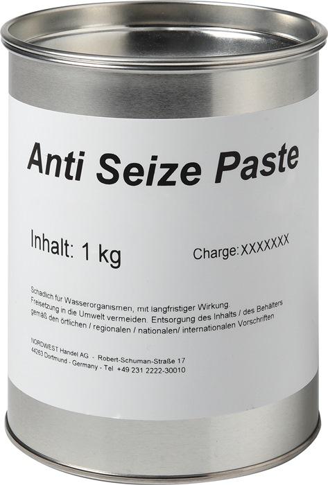 Anti-Seize-Paste 1kg kupferfarben/grau