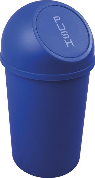 Abfallbehälter H490xØ253mm 13l blau