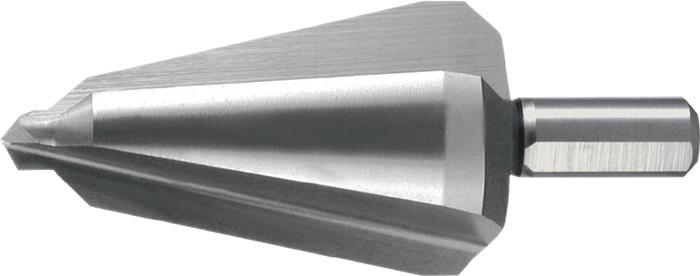 Blechschälbohrer Bohrber.16-30,5mm HSS