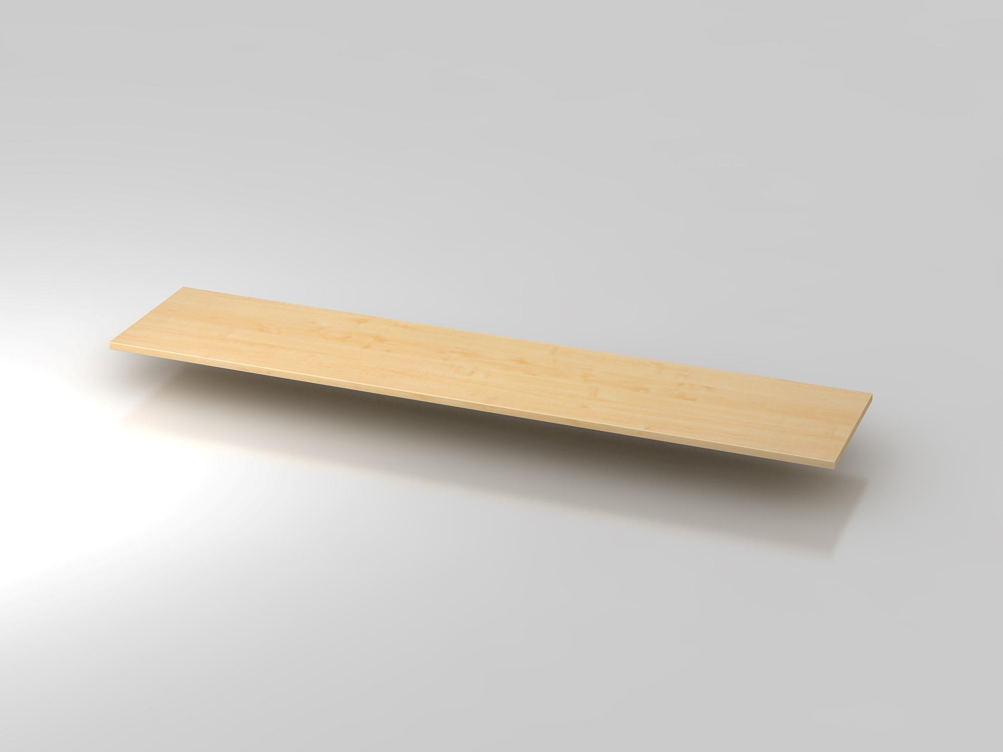 Abdeckplatte 200,5x43cm Ahorn