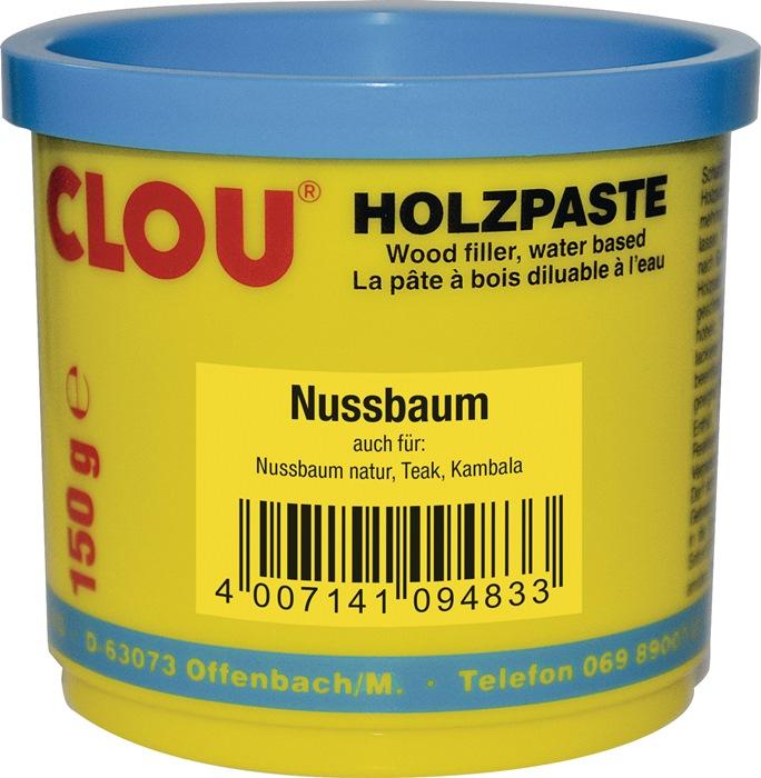 Holzpaste Farbe 10 nussbaum 150g Dose