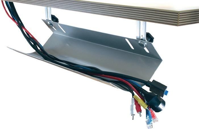 Kabelkanal B1160xT185xH100mm silber