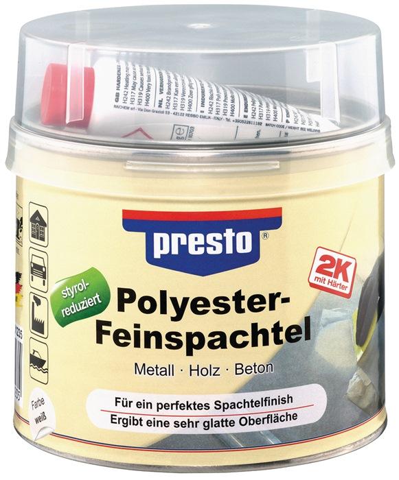 2K-Feinspachtel prestolith® weiß,Härter