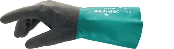 Chemiehandschuh AlphaTec 58-430 Gr.10