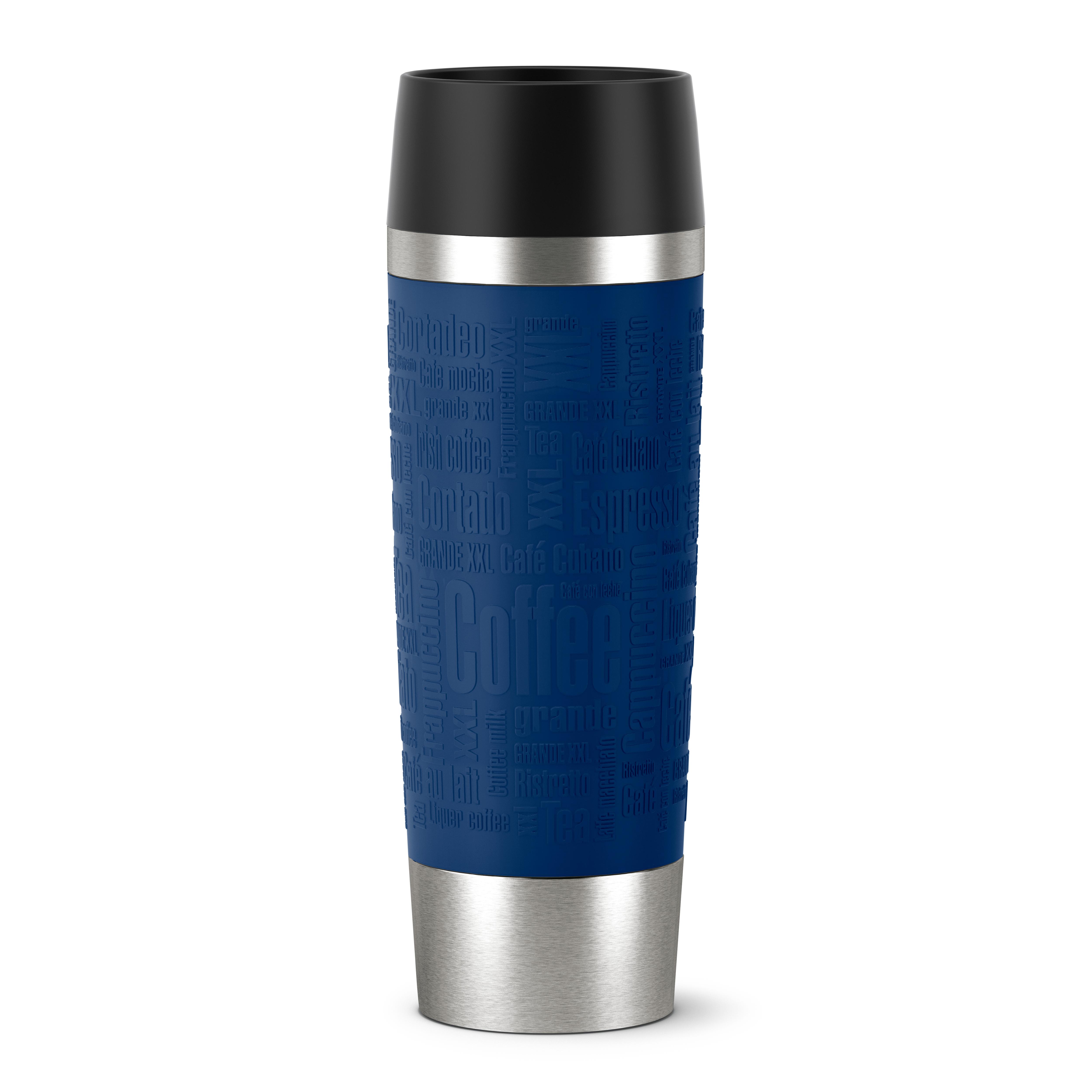 EMSA 515618 TRAVEL MUG GRANDE Isolierbecher 0,5L Blau