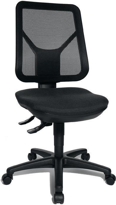 Bürodrehstuhl m.Lendenwirbelstütze