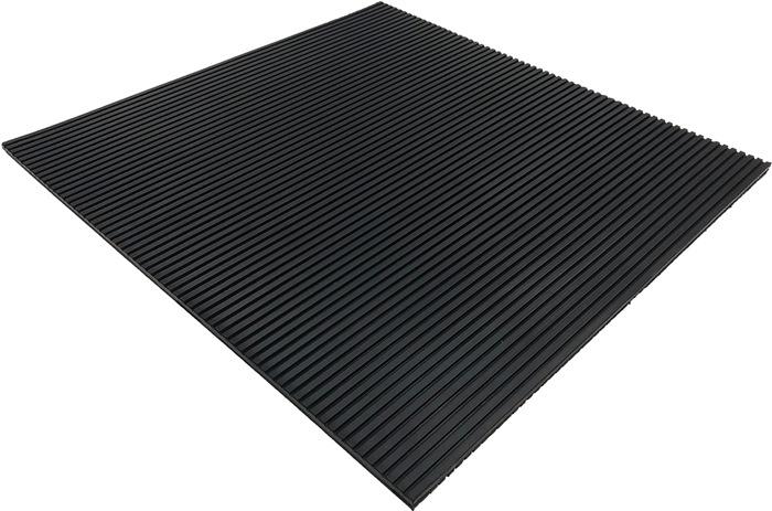Antivibrationsmatte B.0,5m L.0,5m D.10mm