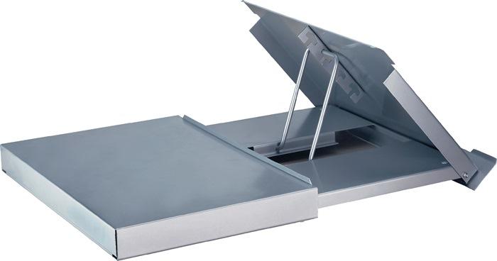 Monitorständer Metall,m.Konzepthalter