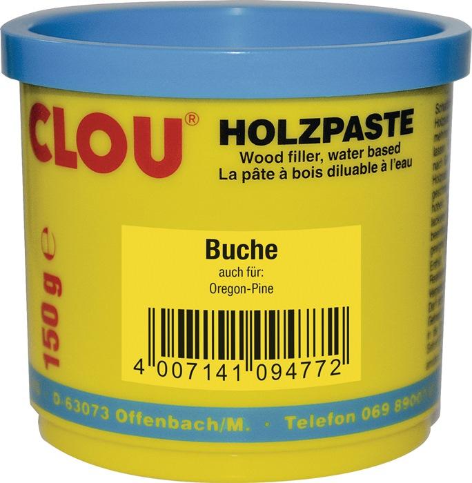 Holzpaste Farbe 04 buche 150g Dose CLOU