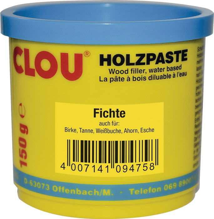 Holzpaste Farbe 02 fichte 150g Dose CLOU