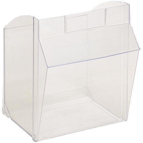 Einzelbehälter  2Kästen/Klappkastenset 2 glasklar