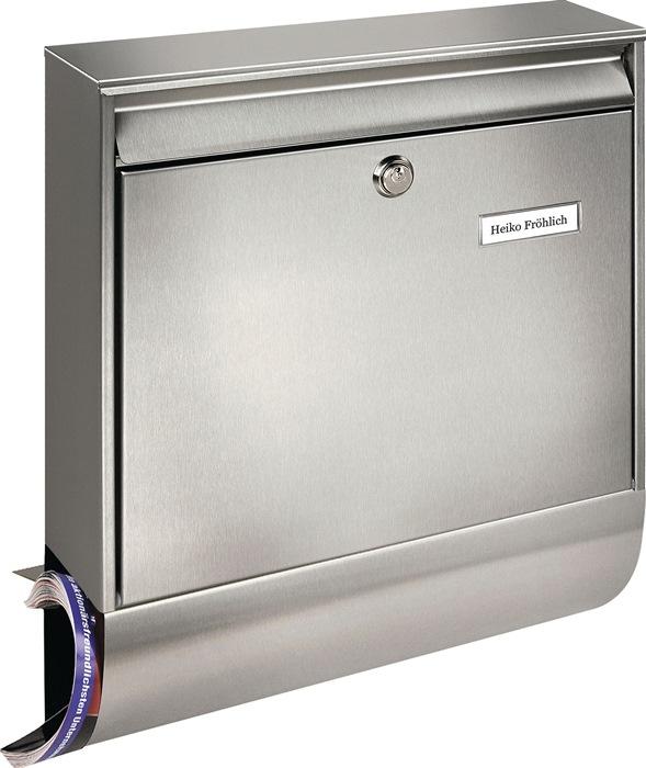 Briefkasten Borkum-Set 38770 Ni H.422mm