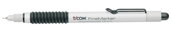 Mikroreißnadel HM L.150mm Nadel-D.0,38mm