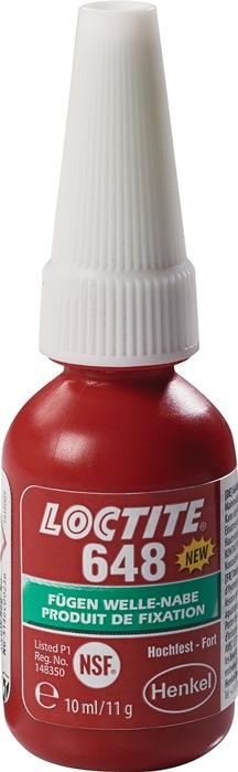 Fügeklebstoff 648 hf.grün 10 ml Flasche