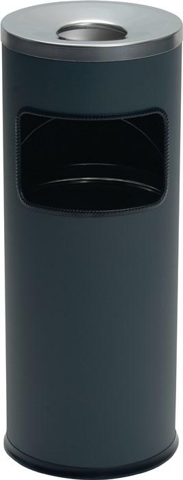 Kombiascher Ø250xH630mm anthrazit