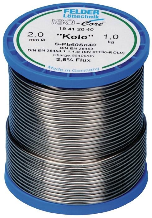 Lötdraht ISO-Core® Kolo 2mm 250g
