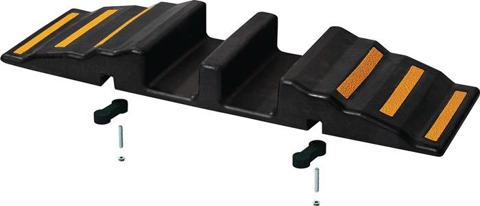 Gummi-Schlauchbrücke L850xB380xH90mm 6