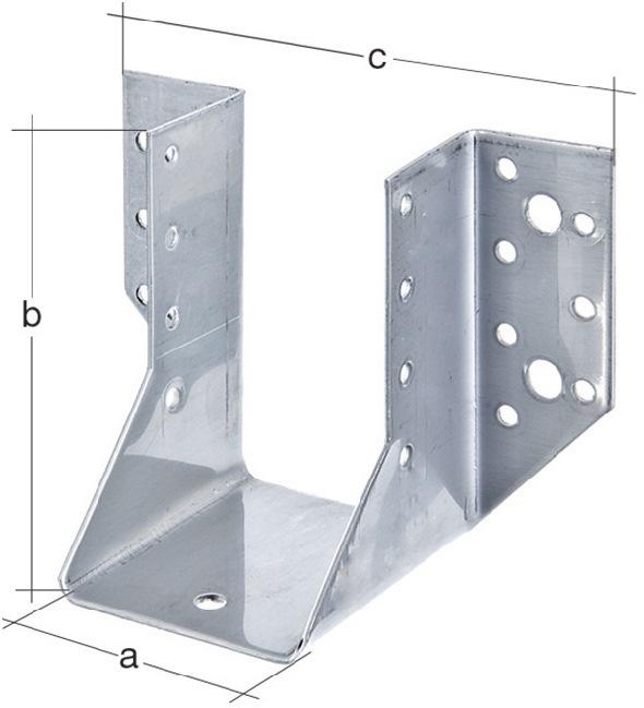 Balkenschuh Typ A 100/140 2mm