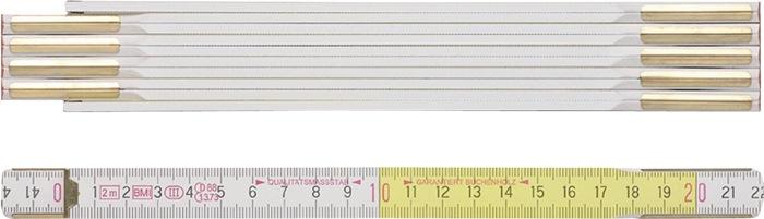 Gliedermaßstab 9142 L.2m B.16mm mm/cm EG