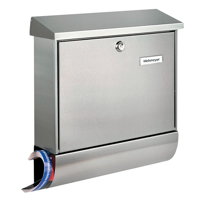 Briefkasten Amrum-Set 38670 Ni H.420mm