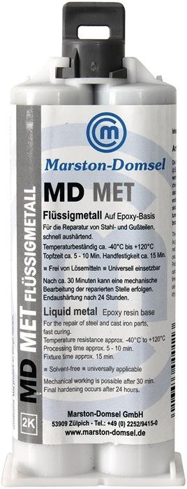 2K-Epoxyd-Flüssigmetall MD MET 50g