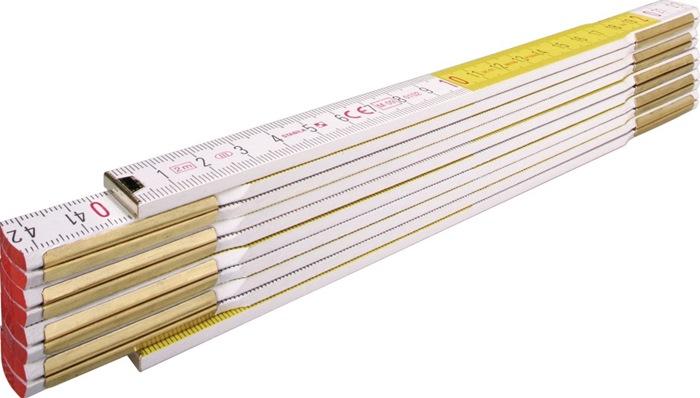 Gliedermaßstab 617 L.2m B.1,70cm mm/cm E