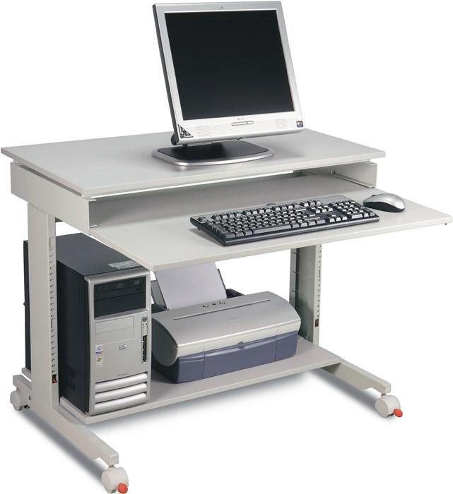 PC-Arbeitstisch H720-1100xB900xT500mm