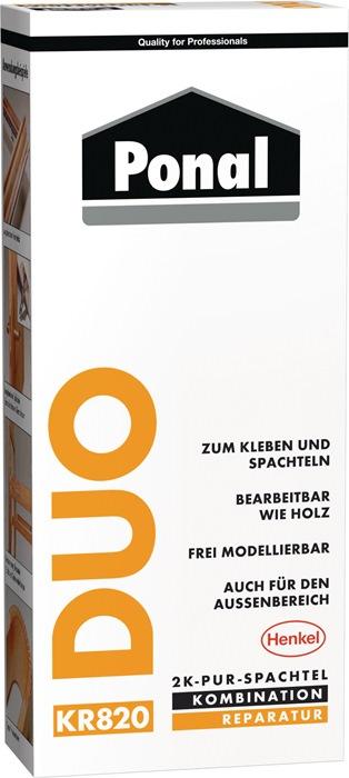 2K PUR-Spachtel Duo DIN EN 204,D4 315g
