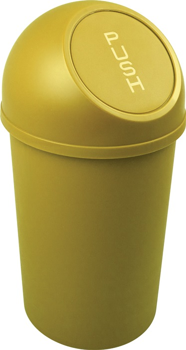 Abfallbehälter H490xØ253mm 13l gelb