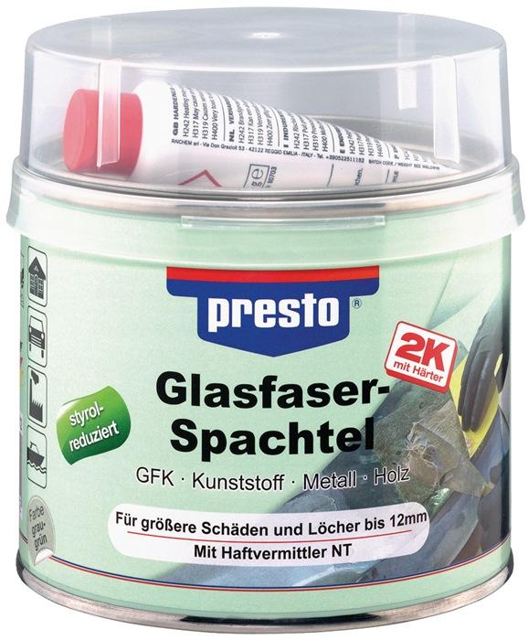 2K-Glasfaserspachtel prestolith®