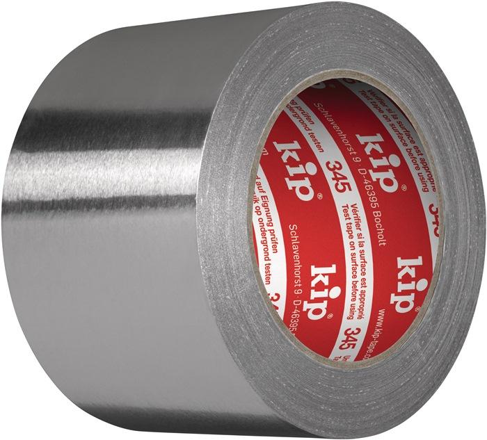 Aluminiumklebeband 345 m.Liner L.100m