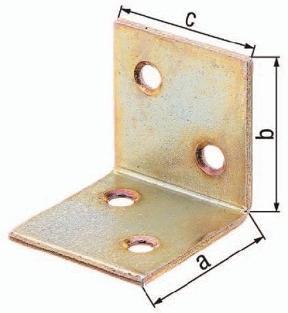 Breitwinkel Maß a 30mm Schenkel-L.30mm