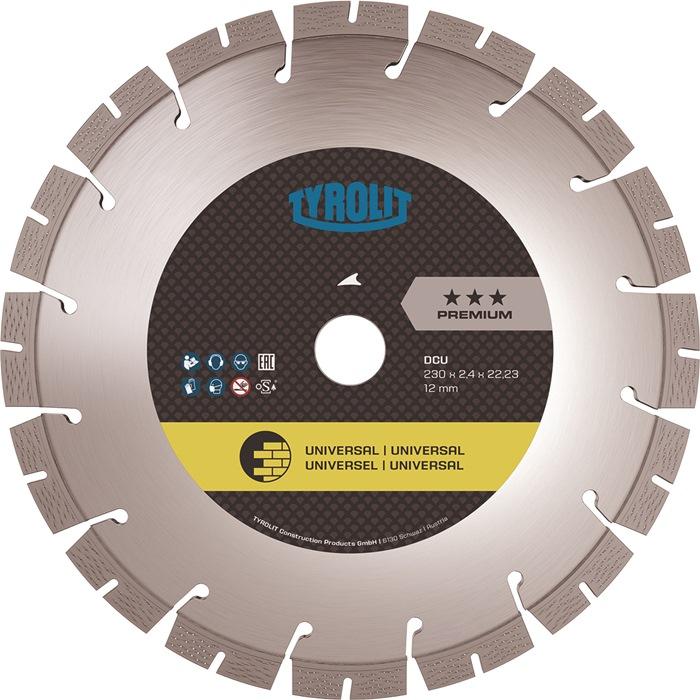 Diamanttrennscheibe DCU Premium D.115mm