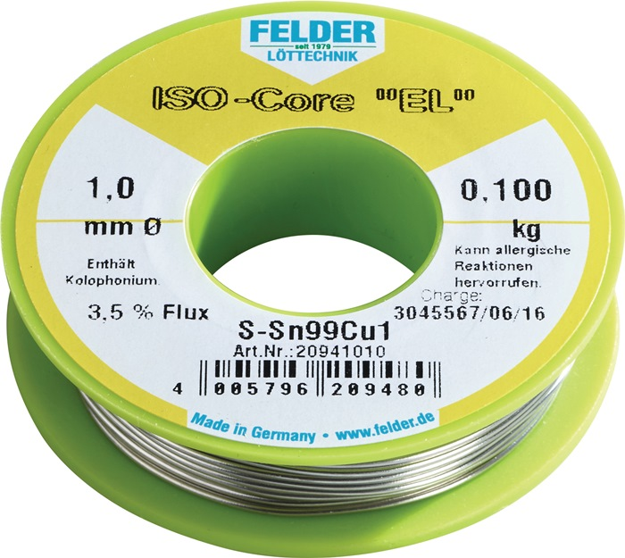 Lötdraht ISO-Core® EL 1,5mm 100g