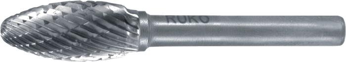 Frässtift FLH D.10mm Kopf-L.20mm