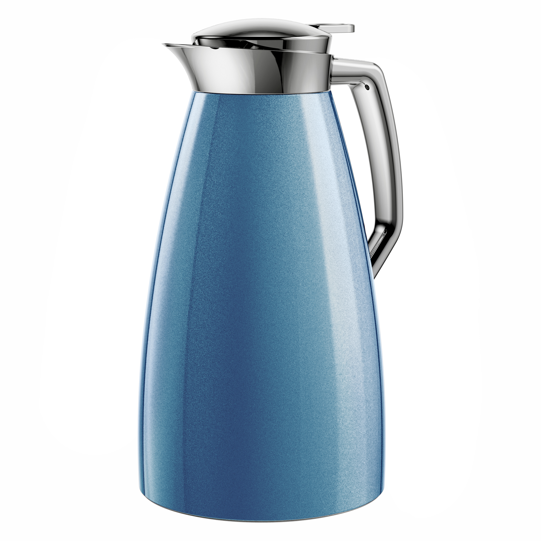 EMSAF4140400 PLAZA Isolierkanne QT 1,0 L Blau
