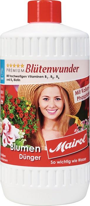 Blumendünger Blütenwunder Liquid 1l