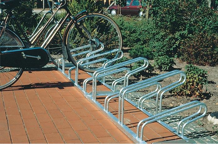 Fahrradbügelparker 1-s.90°