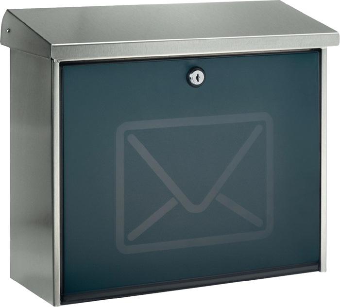 Briefkasten Lucca 3713 Ni Letter H.340mm