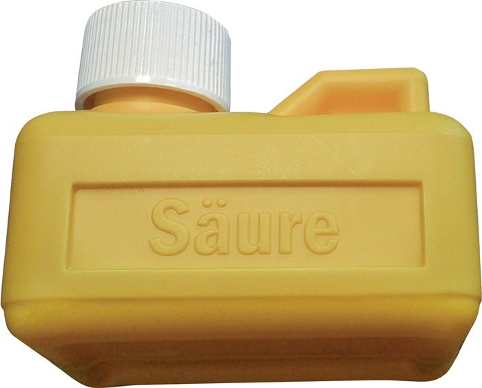 Beh.gelb f.Salzsäure FELDER