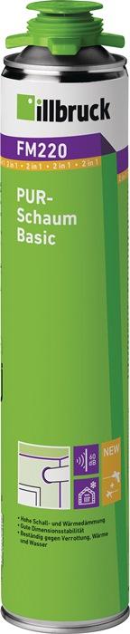 1K-PUR-Schaum FM220 750 ml B2 gelb