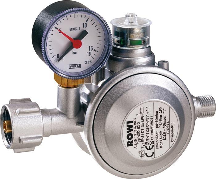Druckregler HGD 1/2 D 1,5 kg/h 0,49kg