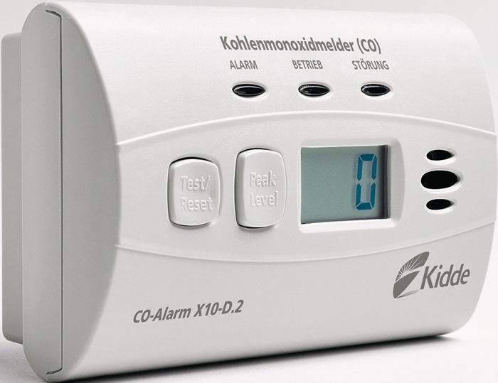 CO-Melder X10-D.2 H.71mm weiß 85 dB/3m