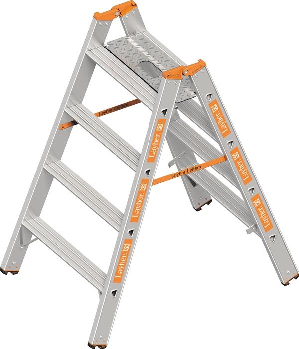 Schwerlasttritt Stufen 4 Plattformhöhe